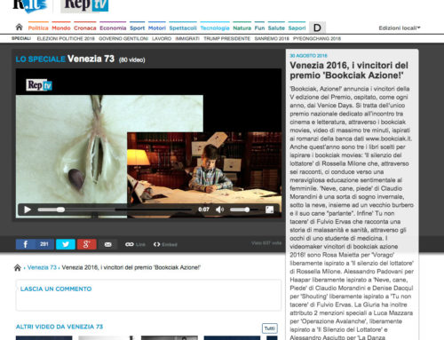 Repubblica – Venezia 2016, i vincitori del premio 'Bookciak Azione!'